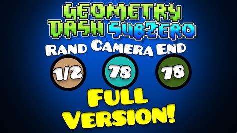 geometry dash full version everything unlocked geometry dash subzero full version unlock all android