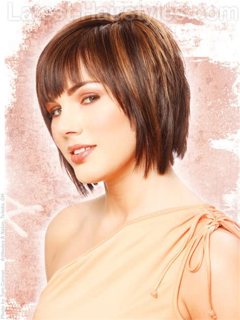 short layered v hair cuts easy and short layered hairstyles you should try