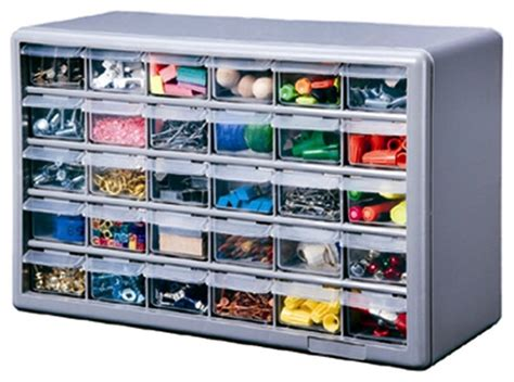 stack on ds 30 30 drawer storage cabinet traditional