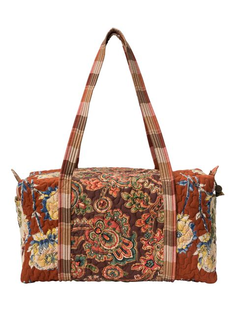 Patchwork Duffle Bag - harvest riches patchwork duffle bag accessories bags