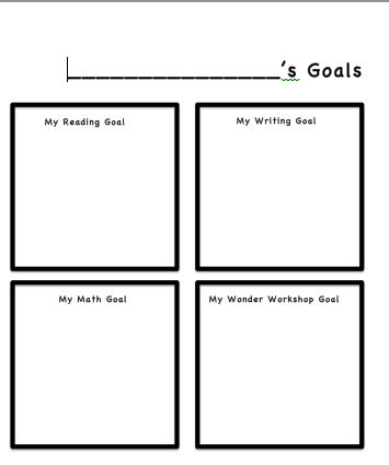 A Year Of Reading Still Learning To Read Goal Setting How To Write Your Goals Template