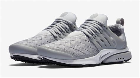 Nike Presto Woven Black Premium Original nike air presto woven grey the sole supplier