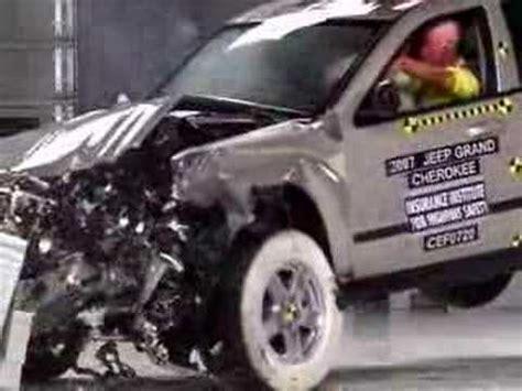 Jeep Grand Crash Test Crash Test 2007 Jeep Grand Iihs