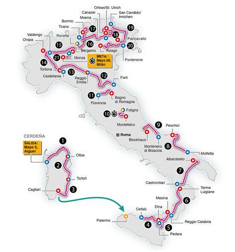 Calendario De Italia Calendario Giro De Italia 2017 As