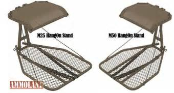 Most Comfortable Hang On Treestand Introducing Millennium M25 And M50 Hang On Treestands
