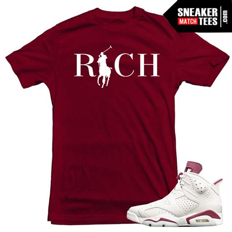 Matching Country Shirts Maroon 6s Matching Sneaker Tees Shirts Sneaker Match Tees