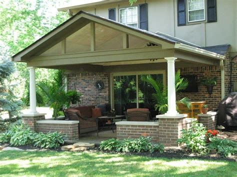 Adding Roof Patio by Covered Patio Roof Addition In In Gettum