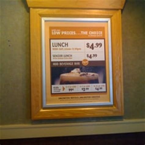 hometown buffet menu prices hometown buffet new low prices what a deal union city ca united states