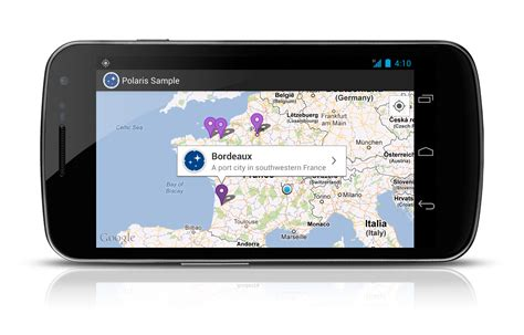 android mapview meet polaris a map library for android cyril mottier