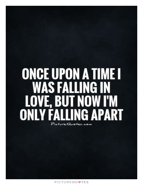 this house is falling apart lyrics once upon a time i was falling in love but now i m only