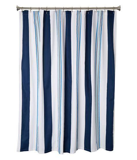cabana curtains kassatex cabana stripe shower curtain at zappos com