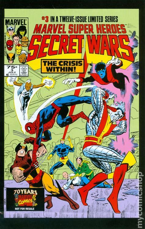 libro marvel super heroes secret marvel super heroes secret wars 2009 hasbro af insert comic books