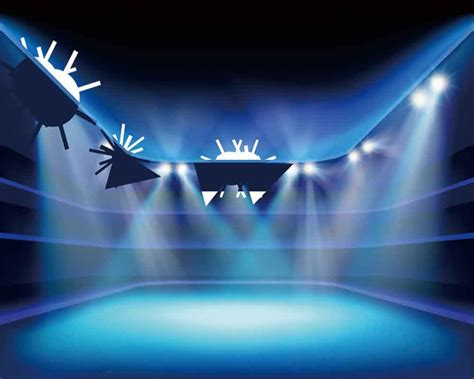 backdrop design for alumni homecoming prom homecoming backdrop stage lighting blue background