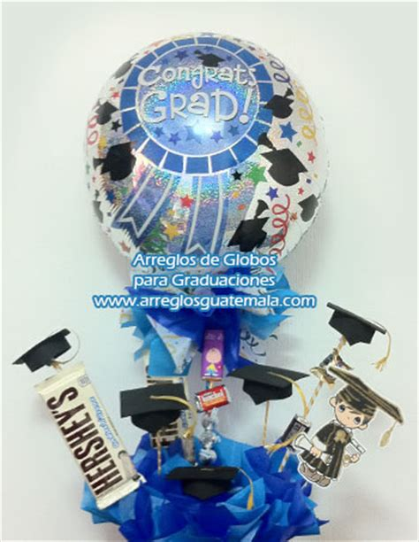 arreglos en bombas para grados globos para graduacion