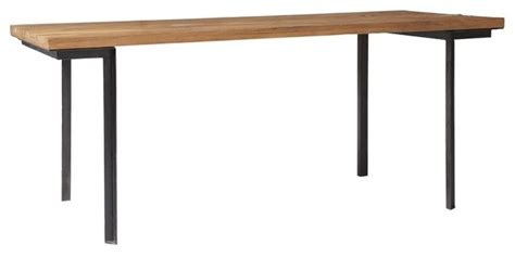 industrial modern dining table industrial dining table modern dining tables by west elm