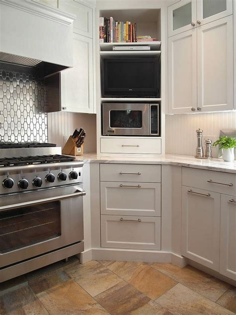 kitchen nook cabinets 30 corner drawers and storage solutions for the modern kitchen