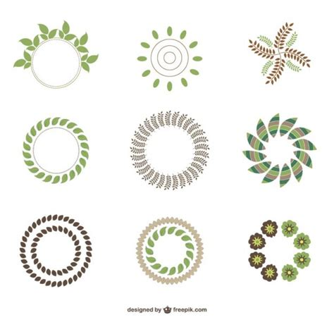 imagenes logos verdes abstratos logos ecol 243 gicos verdes baixar vetores gr 225 tis