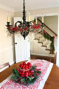Banister Christmas Decorations 45 Christmas Decorating Ideas For Pendant Lights And