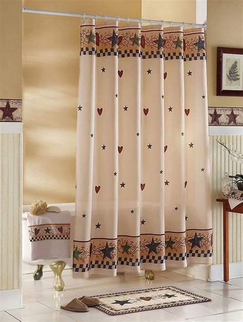 country star shower curtain soldout country stars hearts bathroom shower curtain