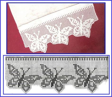 cenefas en crochet cenefas on pinterest patron crochet filet crochet and