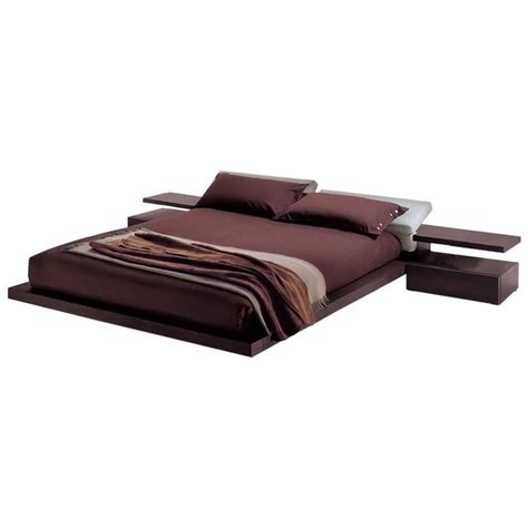 italian platform bed modern italian furniture platform bed king size made in