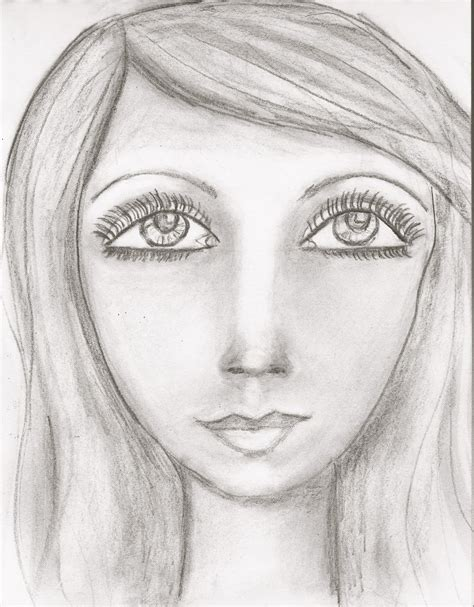 Sketches Faces by Artsy Butterfly I Miss My Pretty Faces Sunday Sketches