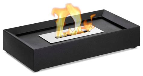serpa table top ethanol fireplace contemporary