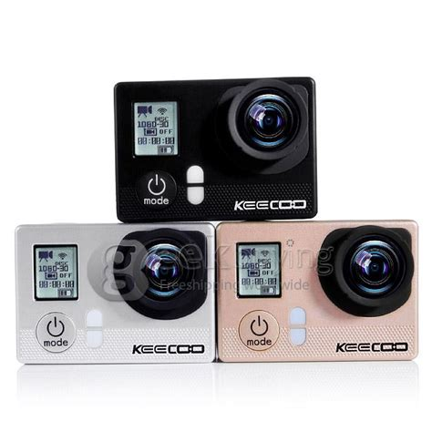 1280 X 720p 12mp Mini 4in1 Photo Audio Motion keecoo 12mp wifi sports waterproof for ios and android