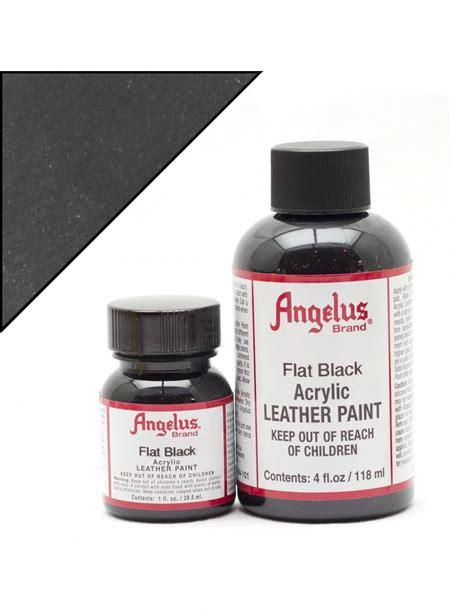 angelus paint matte finisher angelus dyes paint flat black matte 1oz leather