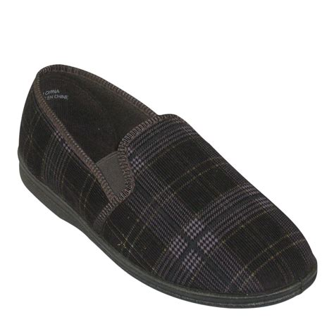 mens slippers mens 2 slipper tootsies shoe market