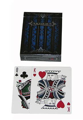 Artifice Blue Card cards artifice blue ellusionist cards gamblers