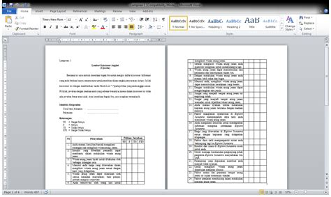 format makalah ugm contoh daftar isi dengan liran cara ku mu