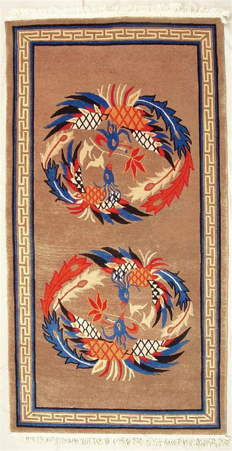 phoenox rugs symbol in tibetan rugs artelino