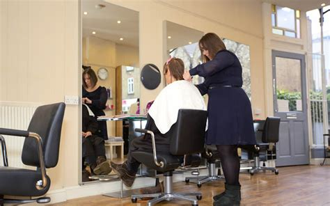 getting a makeover and per yourself frizz salon