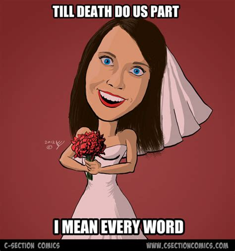 overly attached bride meme c section comics
