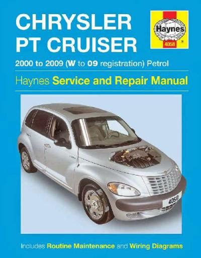 old car manuals online 2009 chrysler pt cruiser auto manual chrysler pt cruiser petrol 2000 2009 haynes service repair manual uk sagin workshop car