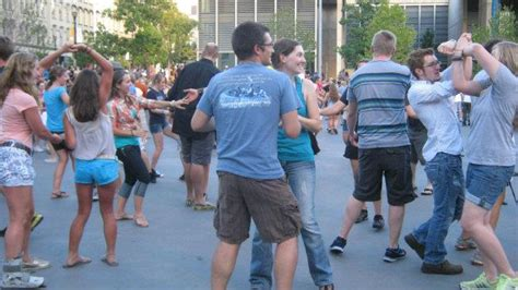 radio swing worldwide watch grand rapids swing dance group smash world record