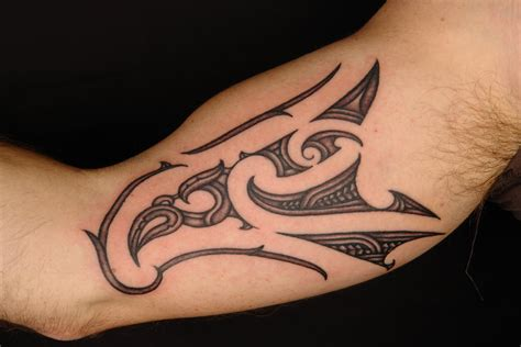 tattoo inner arm shane tattoos maori inner bicep