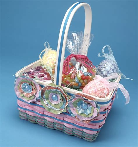 How To Make A Flower Basket With Paper - cathie filian 7 diy easter basket designs