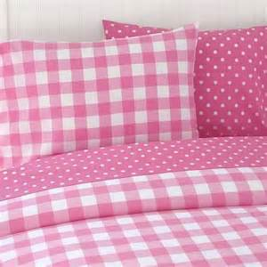 gingham and polka dot bedding i m in loveee with polka dots