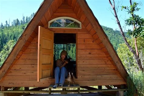 Micro Cottage With Garage off grid micro a frame cabin