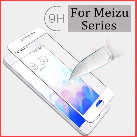 for meizu m3s mini tempered glass protective glass on