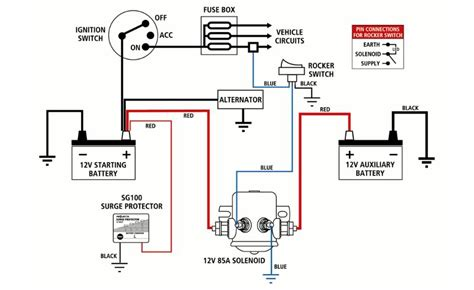 projecta dual battery wiring diagram 36 wiring diagram