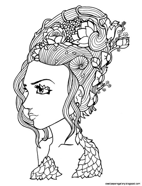mother nature coloring page black and white nature drawings wallpapers gallery