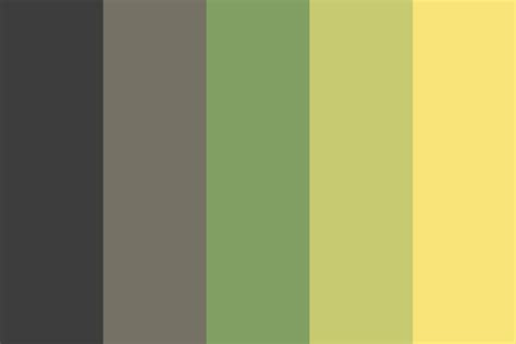 color library buttercup library color palette