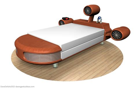 star wars beds star wars landspeeder bed and other news dave s geeky ideas