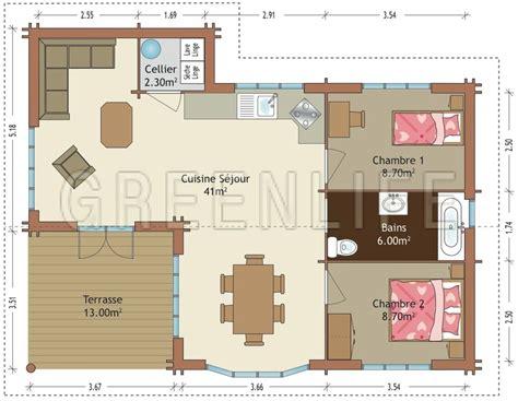 Amenagement Interieur Placard 1890 by Plan Maison Plain Pied 70m2 Id 233 Es D 233 Coration Int 233 Rieure