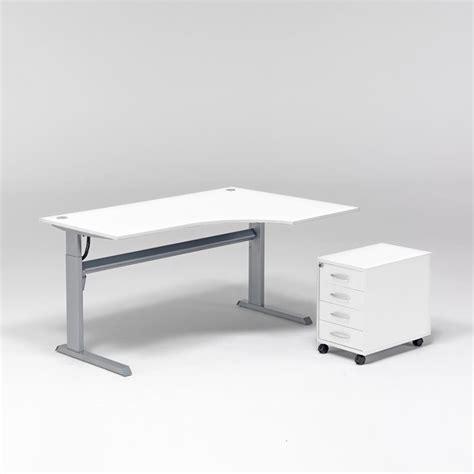 Ergonomic Adjustable Desk by Package Deal Height Adjustable Ergonomic Desk Pedestal Aj Products