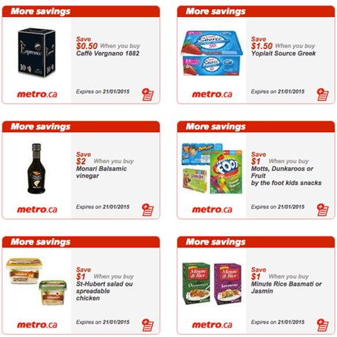 printable grocery coupons quebec metro quebec printable store coupons january 15 21