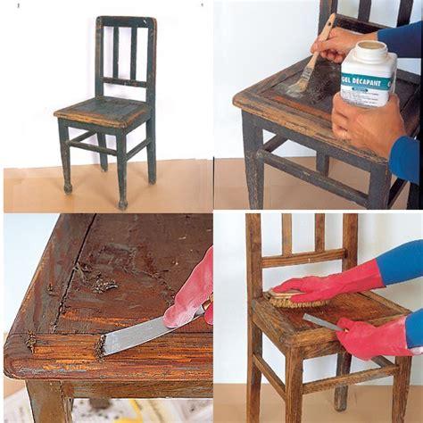 Comment Renover Une Chaise En Bois by Comment R 233 Nover De Vieilles Chaises Bricobistro